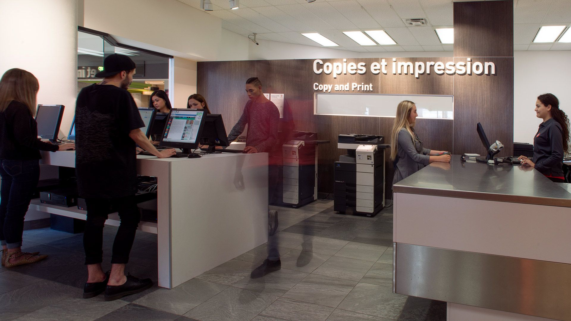 Photocopying and Printing Services   LaSalle College Montréal   Five